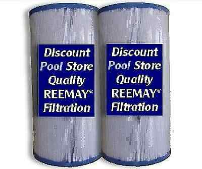 2 x Filters C5345, PLBS50 Leisure Bay, Dynasty Spa Hot Tub Filter Tubs Spas