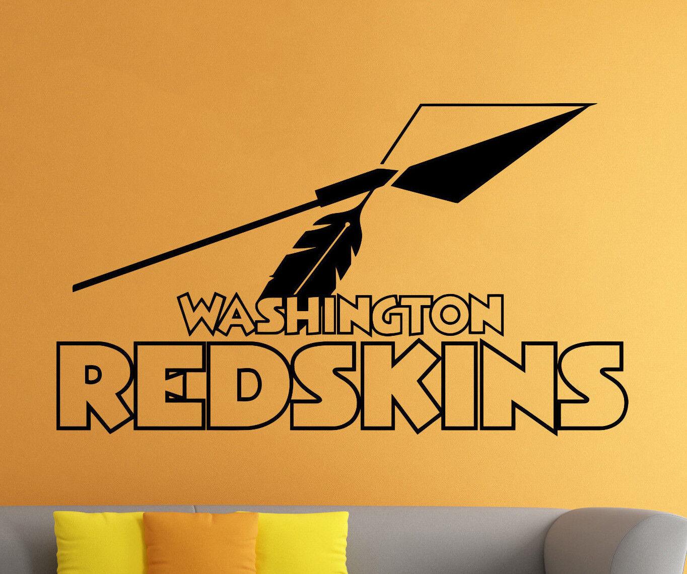 NFL Washington Redskins Wall Decal Vinyl Sticker Football Lo