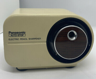 Panasonic Kp-350 Auto Stop Electric Pencil Sharpener. Tested And Working