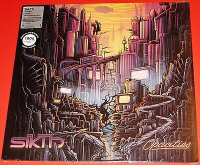 SikTh: Opacities EP LP 180G Vinyl Record 2015 Peaceville Germany VILELP569 NEW