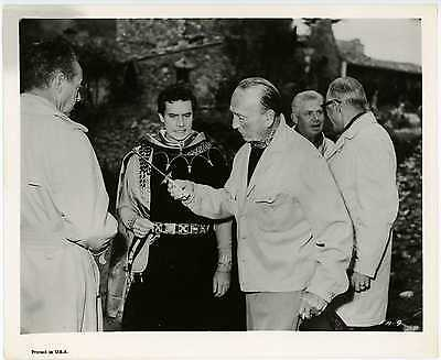 Director Michael Curtiz 8x10 Candid Photo Reproduction - Francis of Assisi