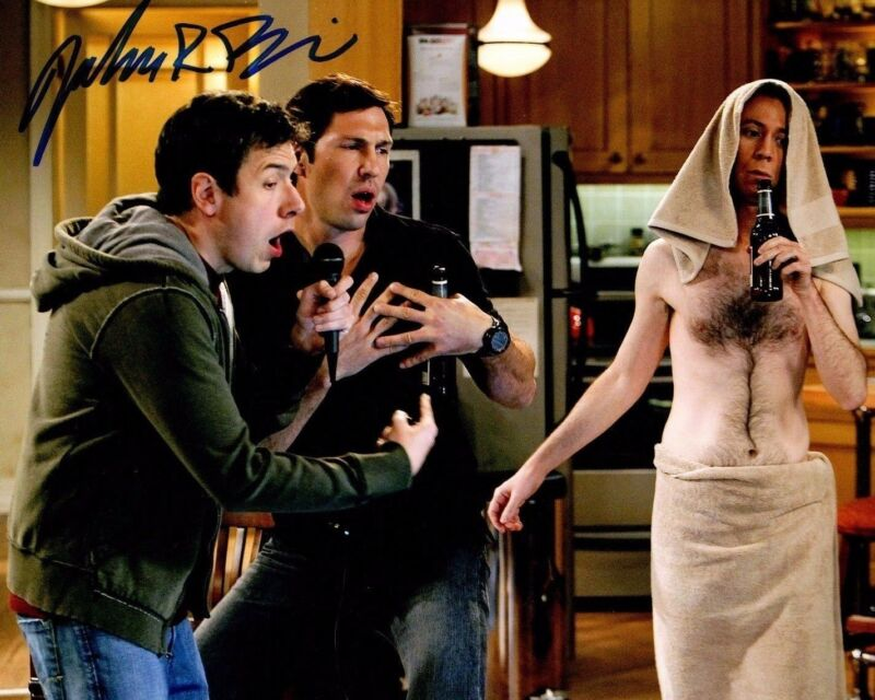GFA The Big Bang Theory Barry * JOHN ROSS BOWIE * Signed 8x10 Photo EJ1 COA