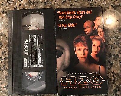 Halloween H20 VHS! 1998 California Horror! (See) Scream The Faculty & True Lies - The Movie Halloween H20