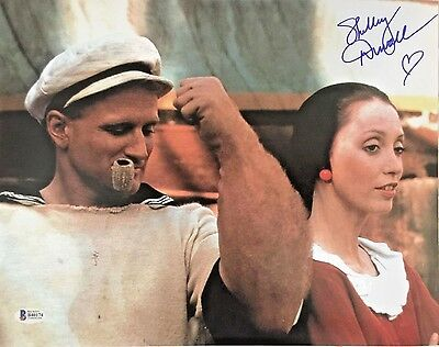 Shelley Duvall Signed Authentic 11X14 Photo Popeye Olive Oyl Autograph Bas Coa