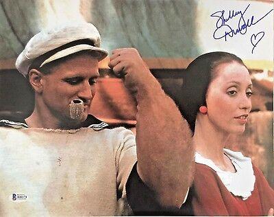 Shelley Duvall Signed Authentic 11X14 Photo Popeye Olive Oyl Autograph Bas Coa