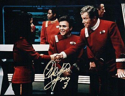 OFFICIAL WEBSITE Walter Koenig in Star Trek & Babylon 5 8x10 AUTOGRAPHED