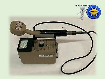 Ludlum Model 14 C Survey Meter W Pancake Probe 90 Days Warranty
