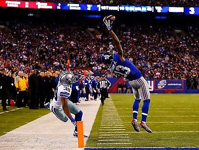 Odell Beckham Jr  Ny Giants 8 5 X 11  Poster Print Photo Great Quality Catch  2