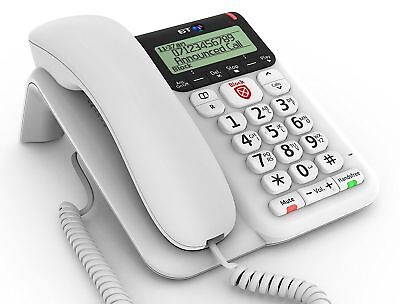 BT Decor 2600 Corded Telephone& Caller ID Advanced Call Blocker & Answer Machine
