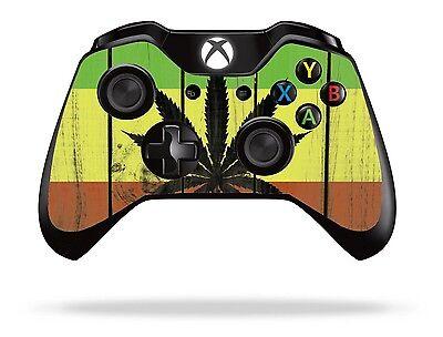 Rasta Xbox One Remote Controller/Gamepad Skin / Cover / Vinyl  xb1r21