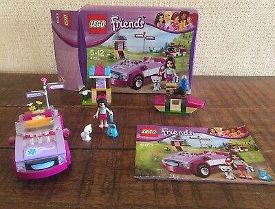 LEGO Friends 41013 - Emma's Sports Car - 100% Complete & With Instructions & box