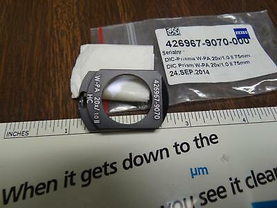 Zeiss Dic Slider W-pa 20x1.0 75mm 426967