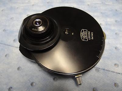 Zeiss 1.4 Na Oil Condenser With Phase Darkfield And More 4353352 Tested