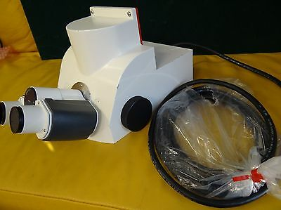 Zeiss Axio Imager Head Lsm Motorized Trinocular Photo Tube 1292-240 New