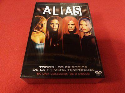 Alias: Pack Primera Temporada Completa DVD (Edición Española) NUEVO Y PRECINTADO