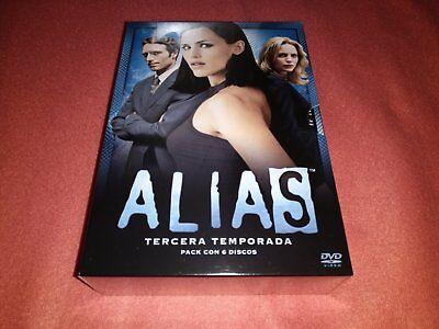 Alias: Pack Tercera Temporada Completa DVD (Edición Española) NUEVO Y PRECINTADO