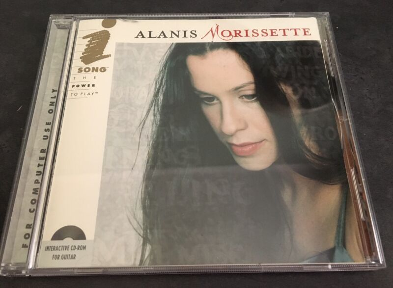 Alanis Morissette Interactive For Guitar I-Song For PC/MAC Rare