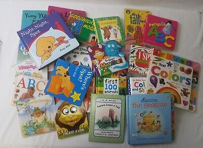 Kids Board Books Lot (10 Pounds) Baby Toddlers Preschool Daycare Free Shipping