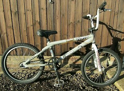 Mongoose Mischief Grey Boys Girls BMX Bike Bicycle 360 Gyro Giro Brake System