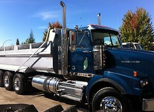 """""""REDUCED FOR QUICK SALE"""" TRI DRIVE Gravel truck and wagon"""