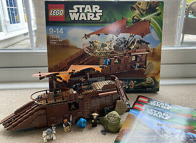 Lego Star Wars 75020 JABBA'S SAIL BARGE 100% Complete Boxed Rare