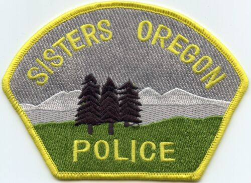 SISTERS OREGON OR POLICE PATCH