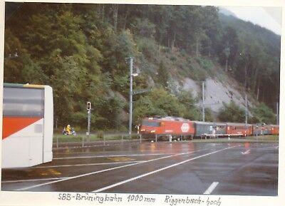 SBB Brüningbahn 1000mm Riggenbach-hoch Foto e26-1