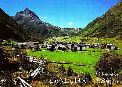 Galtür , Silvretta  , Ansichtskarte, 1992 gelaufen