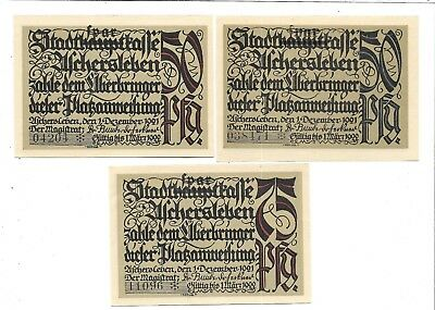 GERMANY NOTEGELD NOTES  3 - 60 PFENNING   NOTGELD NOTES(NN -35)