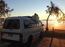 Campervan Ford Econovan Maxi 1998 Solarpanel, Fridge, ready to go Cairns Cairns City Preview