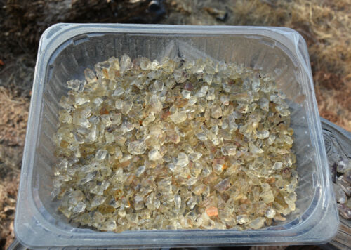 Oregon Sunstones! Rough Parcel! yellows for tumbling/cabbing! approx 1kg! Nice!