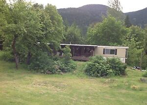 Mobile home for Rent in the Beautiful Slocan Valley