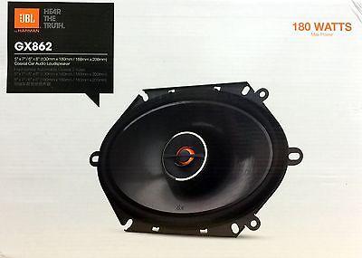 "NEW JBL GX862 5""x7"" / 6""x8"" 2-Way GX Series Coaxial Car Audio Speakers (1-Pair)"