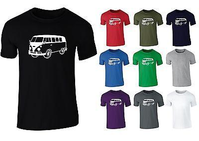 Retro-van (Mens Campervan Retro Van T-shirt NEW S-XXL)