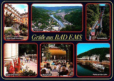 Grüße aus Bad Ems , Ansichtskarte, ungelaufen