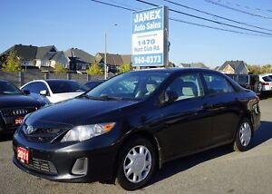 2011 Toyota Corolla CE ACCIDENT FREE | LOW MILEAGE | MANUAL |...