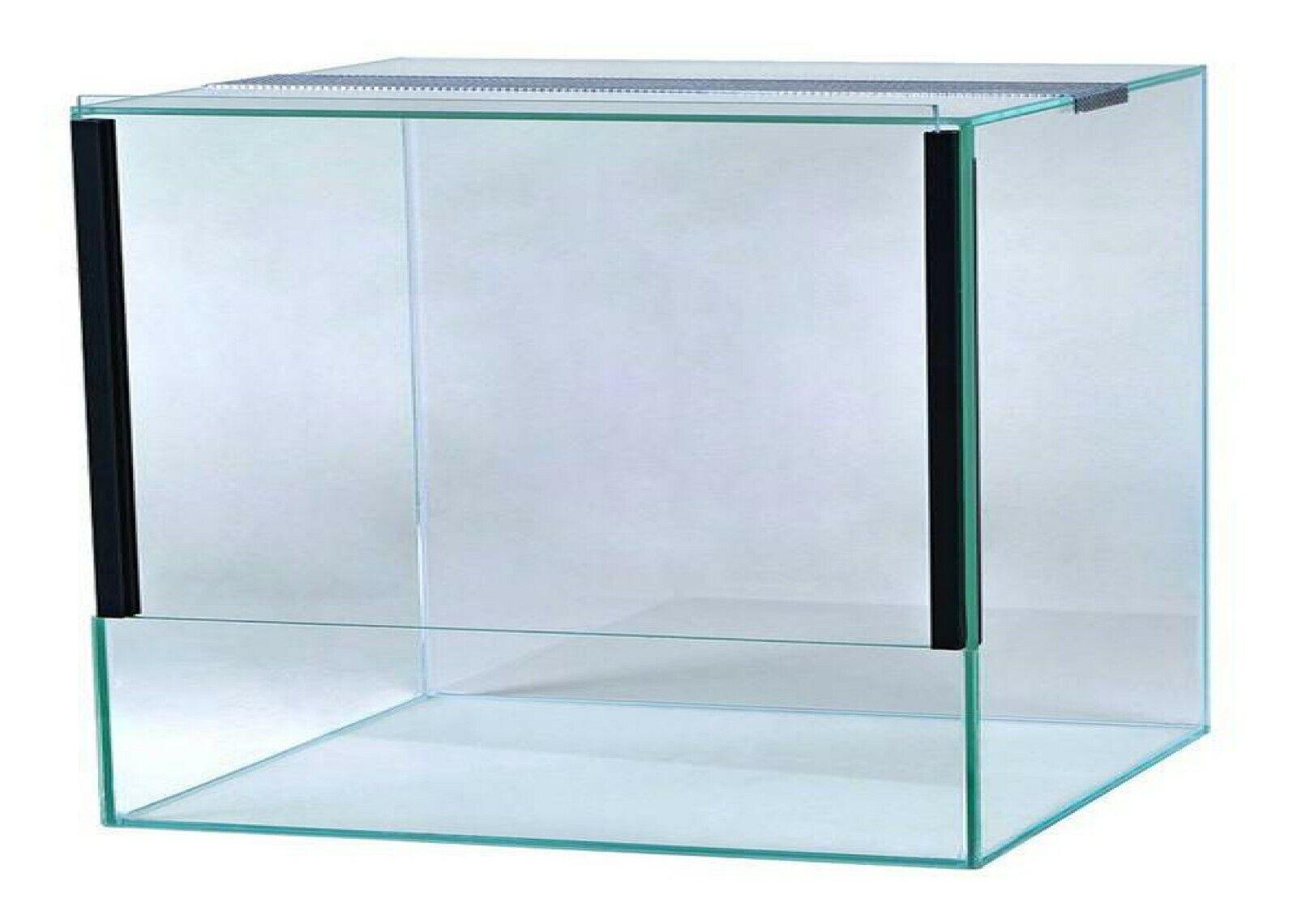 Glas Terrarium Schiebetür Falltür Glasterrarium Reptilien Spinnen viele Größen 40x40x30 Falltür