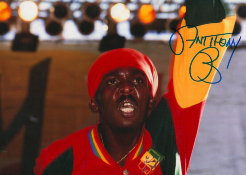 """Anthony B """"Reggae"""" signed 8x12 inch photo autograph"""