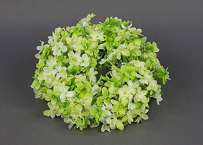 Hortensienkranz 30cm grün-creme PF künstlicher Kranz Hortensie Kunstblumen