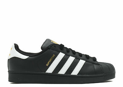 Adidas Superstar Foundation Originals Shell-Top Black/White Casual Sneaker
