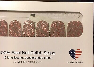Color Street Dry Nail Polish Strips CAPITOL HILL With FREE SHIPPPING Dry Nail Colour