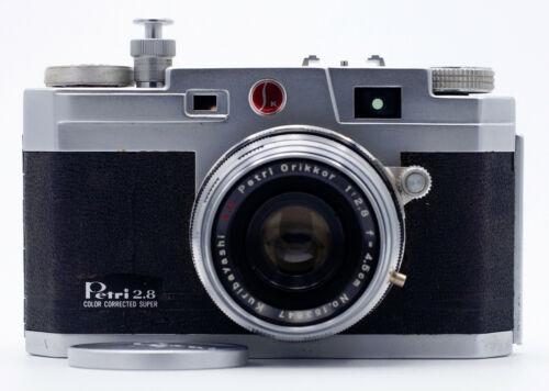 PETRI 2.8 COLOR CORRECTED SUPER 35mm FILM RANGEFINDER CAMERA