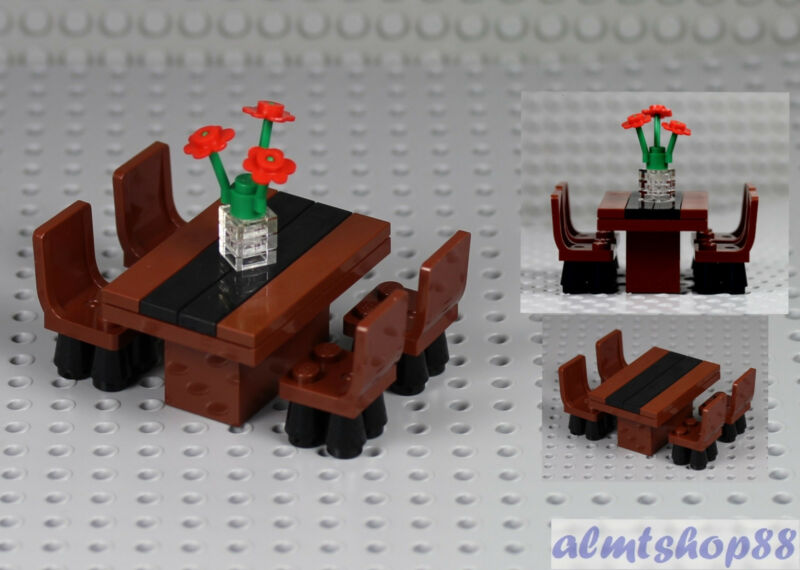 Lego Formal Dining Table W 4 Chairs
