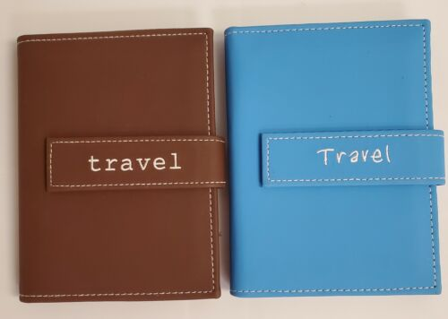 """Two Pioneer Photo Albums Brag Books (Holds 36 ea.)  4 X 6 Photos """"Travel"""""""