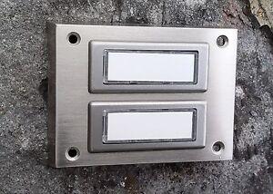 Klingel Klingeltaster Klingelknopf Klingelplatte - Auswahl - Metall