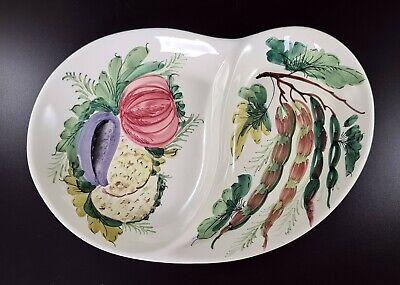 Chip and Dip Set Snack Plate Appetizer Plate Leaf Plate Hors d/'oeuvre Platter Pottery Leaf Serving Platter Set