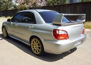 2005 Subaru Impreza WRX STi Rego 6/17, 101,000klms North Parramatta Parramatta Area Preview