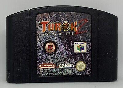 Nintendo 64 Turok 2 , VGC - PAL - TESTED - N64 - (CART ONLY) FREE P+P 1st Class