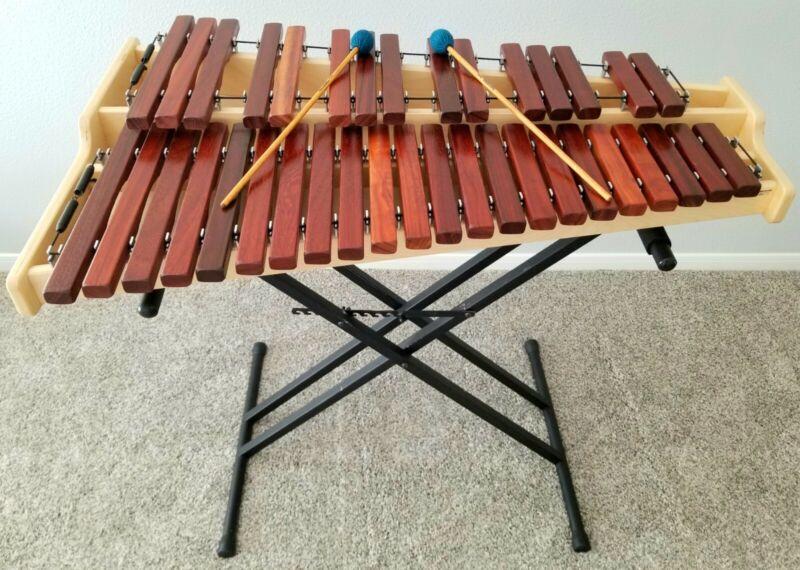Marimba Warehouse MWX 3-Octave Student Marimba with Stand - Pristine Condition!
