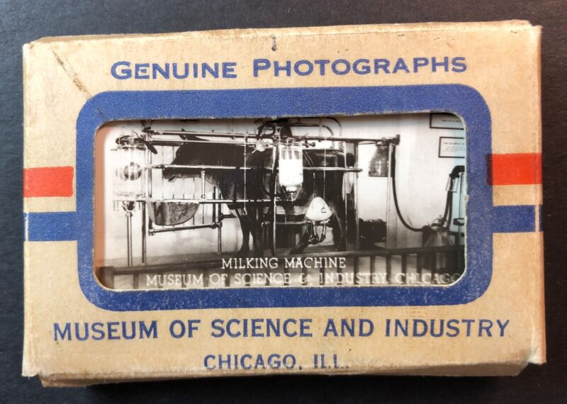 Genuine Photographs Museum of Science and Industry Chicago Ill miniature photos
